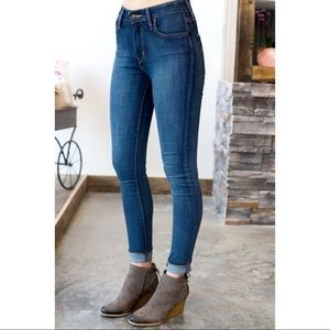 Levi's 721 High Rise Skinny Jeans Size 27 Blue